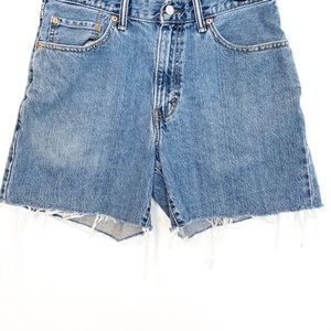 Levi's Vintage Cutoff Denim Shorts